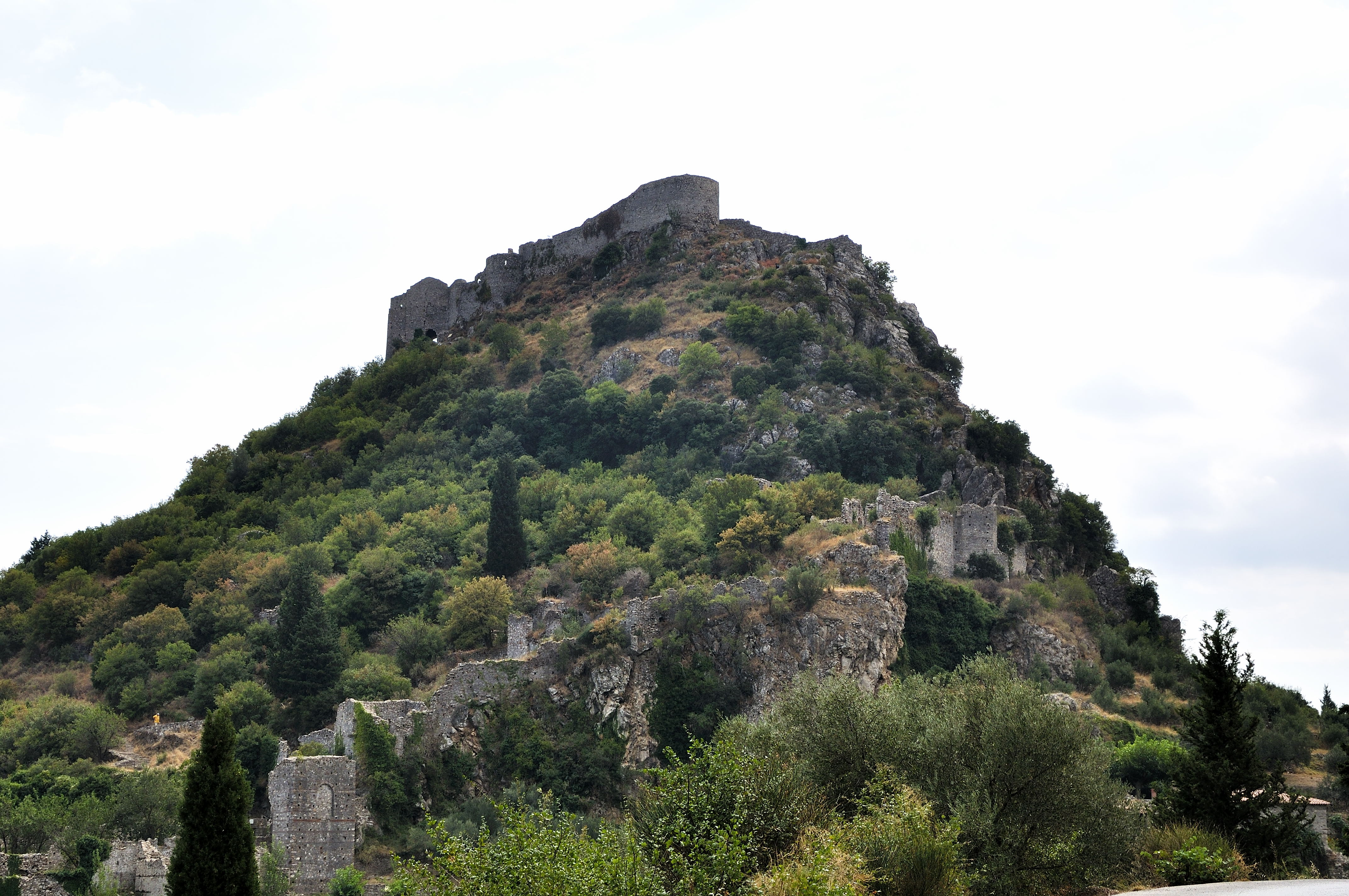 Mystras: last outpost of Byzantium – looking out over the ...