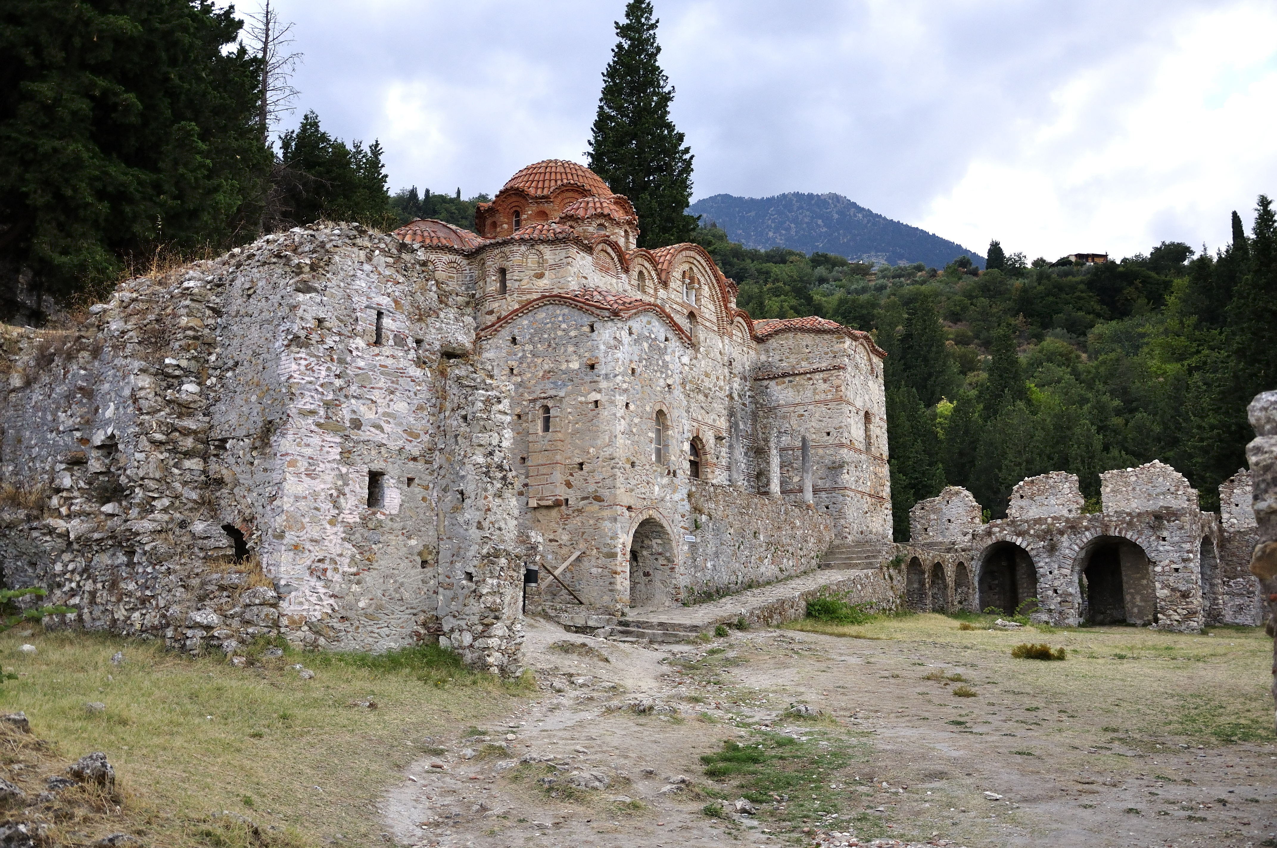 Mystras – last outpost of Byzantium – churches and ...