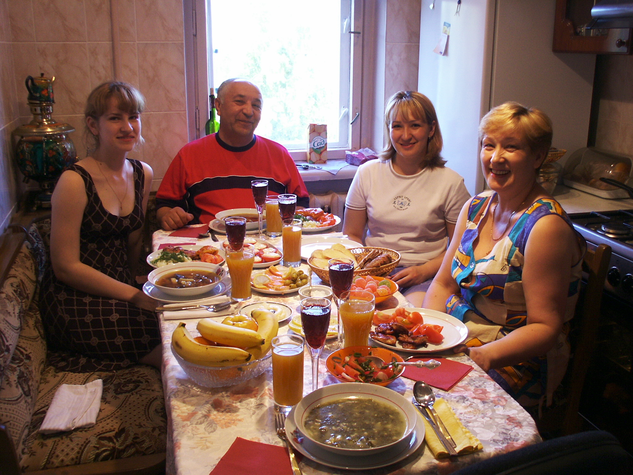 host family A host family receives help from an au pair from another country with childcare and light housework for a limited period of time.