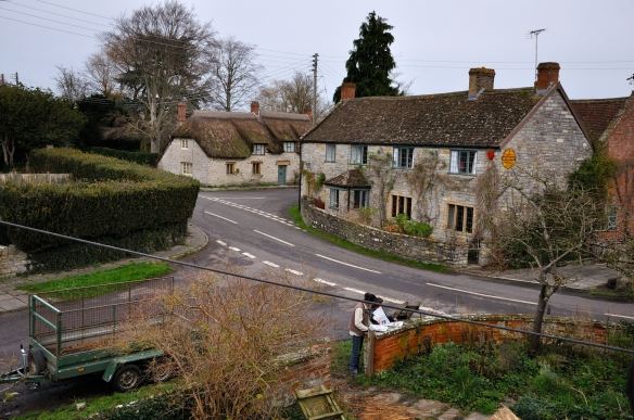 Muchelney village