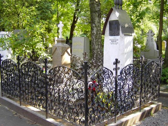 Chekhov's grave, Novodevichy Cemetery, Moscow
