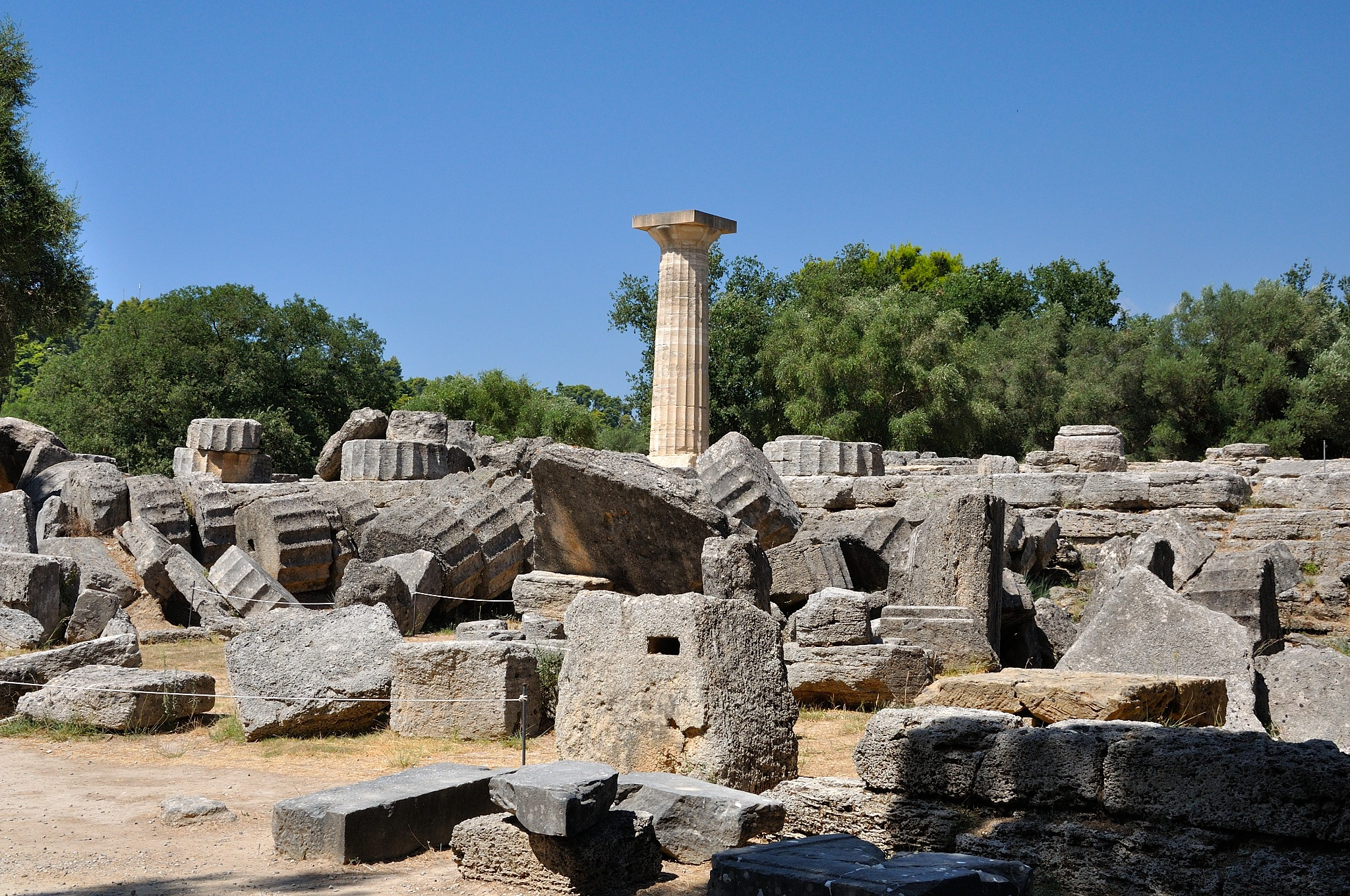 Ancient Olympia Wordscene
