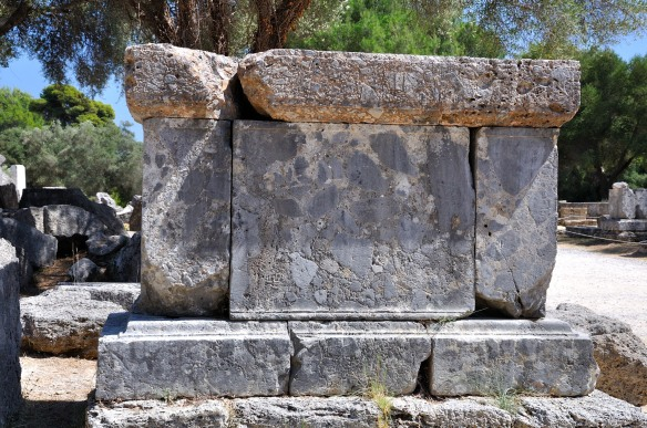 Altar near the Temple of Zeus