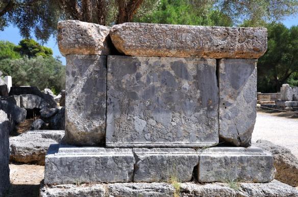 Altar near the Temple of Zeus