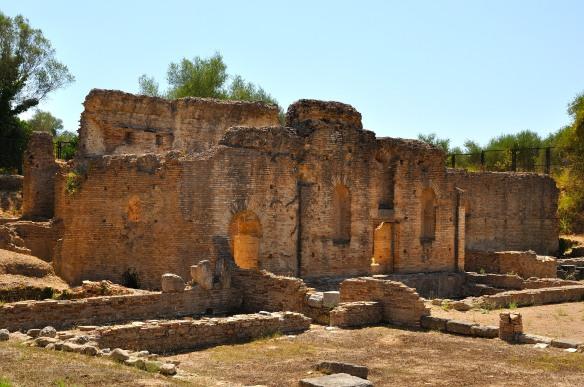 Roman house. Olympia