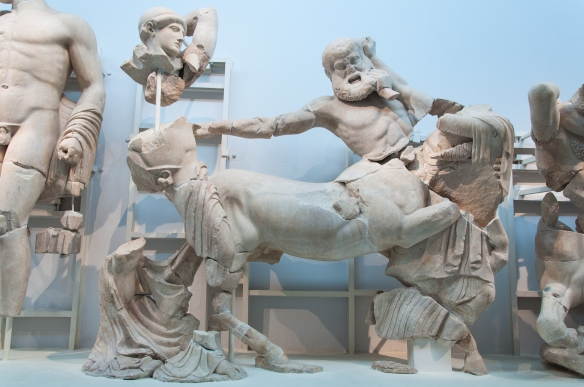 Battle between the Lapiths and Centaurs