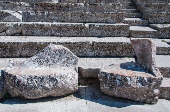 Dignitaries' seats - at Epidavros
