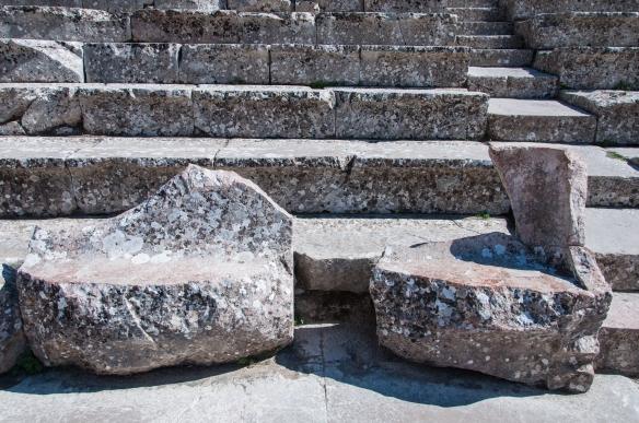 Dignitaries' seats - at Epidavros