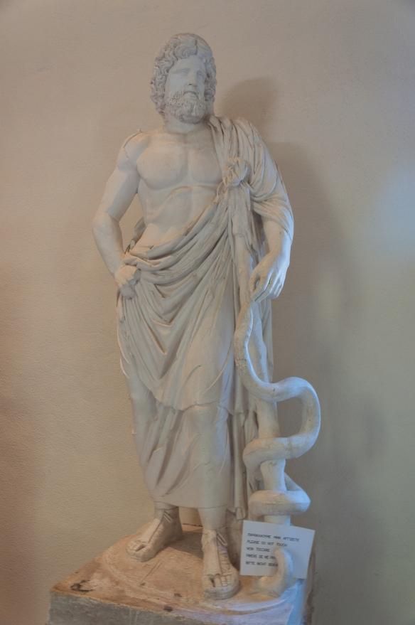 Statue of Asklipios - Epidauros