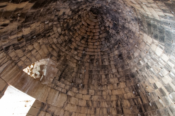 Mycenae - interior of Treasury of Atreus
