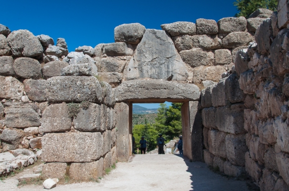 Mycenae - Lions' Gate from the city side