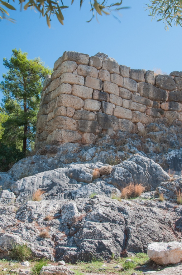Mycenae - outer walls