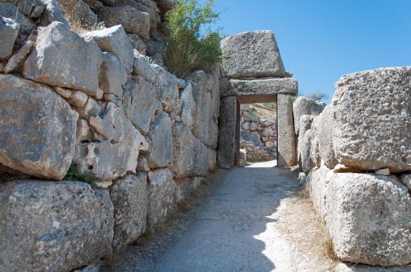 Mycenae - postern gate