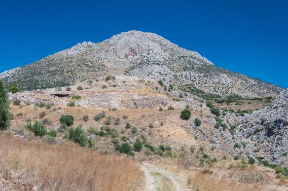 Mycenae - view of the city
