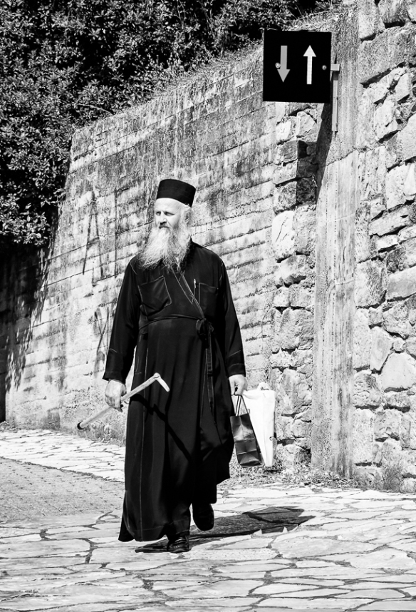 Greek Orthodox Priest - Trikala