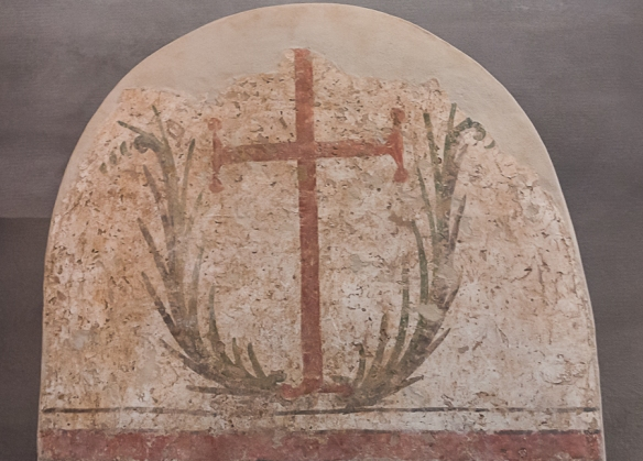 Stele with cross