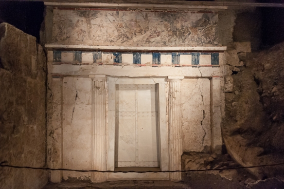 Entrance to Philip II's tomb at Vergina 2