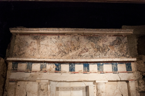 Entrance to Philip II's tomb at Vergina 3