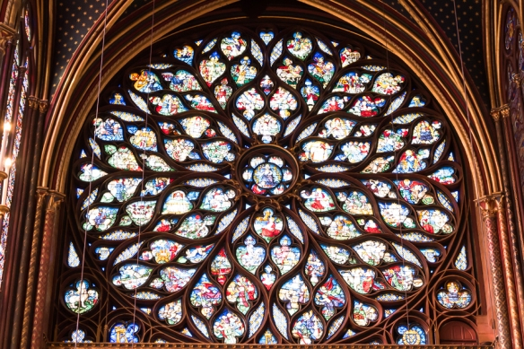 La Sainte Chappelle - rose window