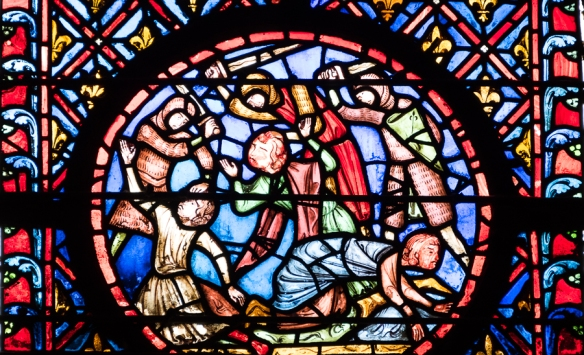 La Sainte Chappelle - stained glass 2