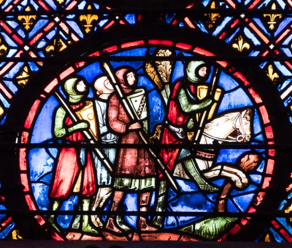 La Sainte Chappelle - stained glass