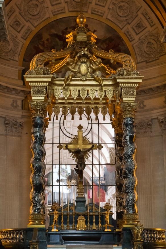 Les Invalides - altar 2