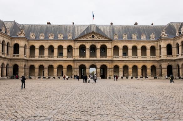 Les Invalides - Cour d'honneur