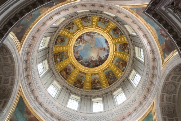Les Invalides - inside the dome