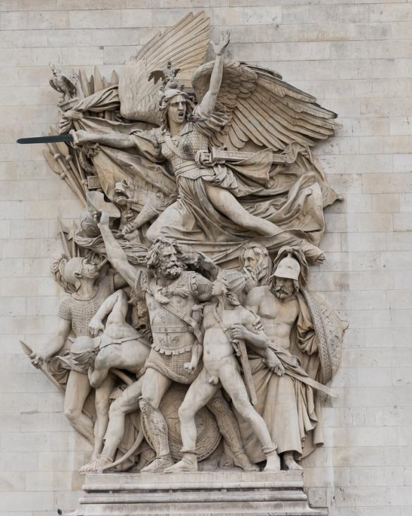 Arc de Triomphe - statue 1