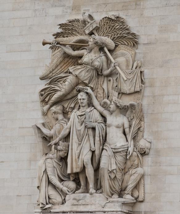 Arc de Triomphe - statue 2