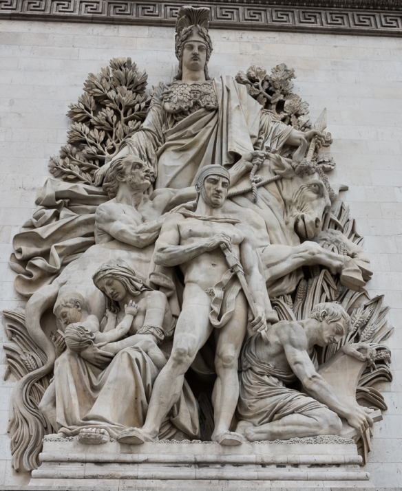 Arc de Triomphe - statue 3