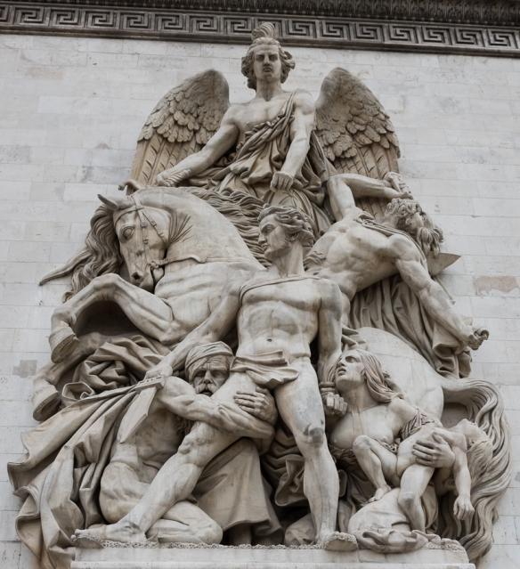 Arc de Triomphe - statue 4