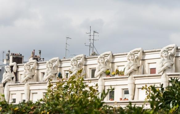 Promenade plante - statues